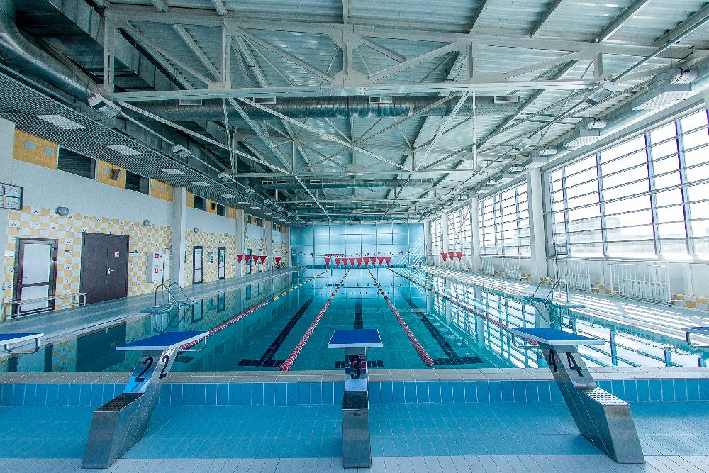 Sport complex «Vatan» with indoor ice rink and swimming pool